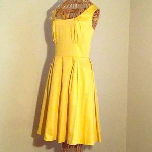 The bright sunshine dress by Calvin Klein